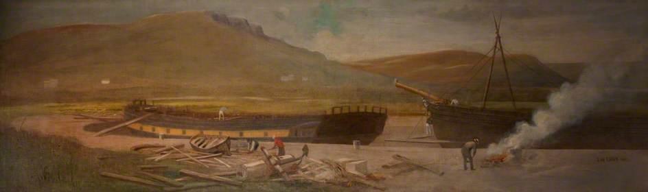 Origin of Shipbuilding in Belfast, Ritchie's Dock