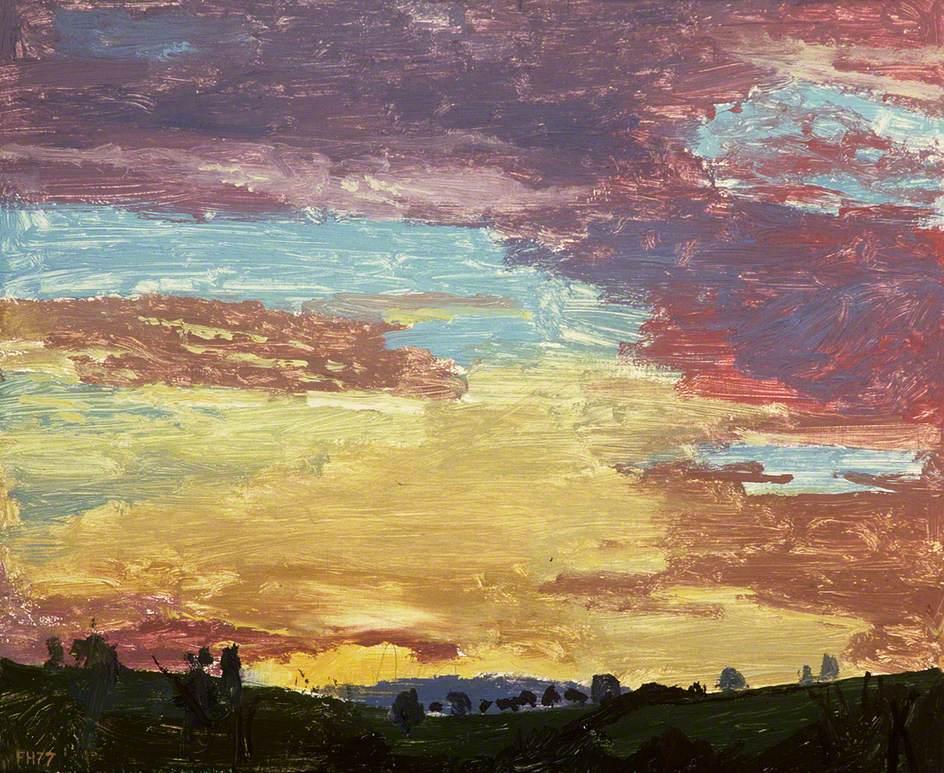 Dawn at Tŷ Canol