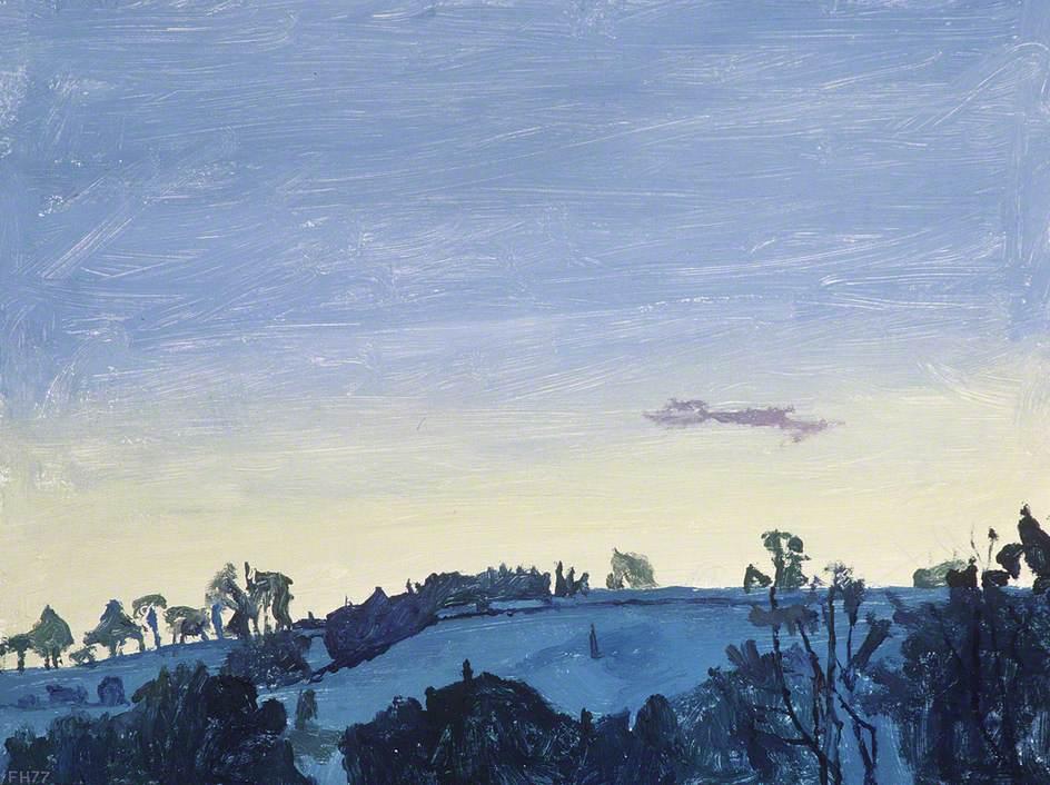 Snow Dawn at Tŷ Canol