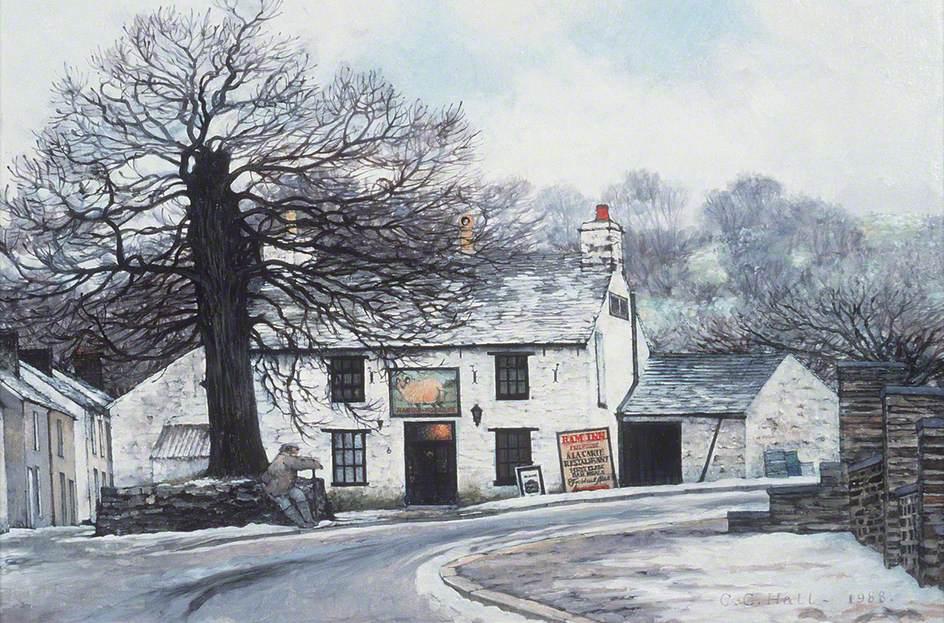 The 'Ram Inn', Cwmann