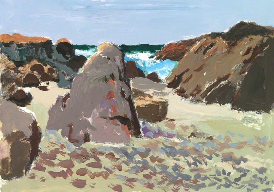 Sea, Rocks and Sand