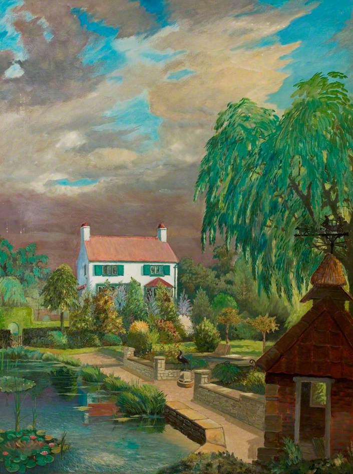 Quaker's Cottage and Garden, South Leverton, Nottinghamshire