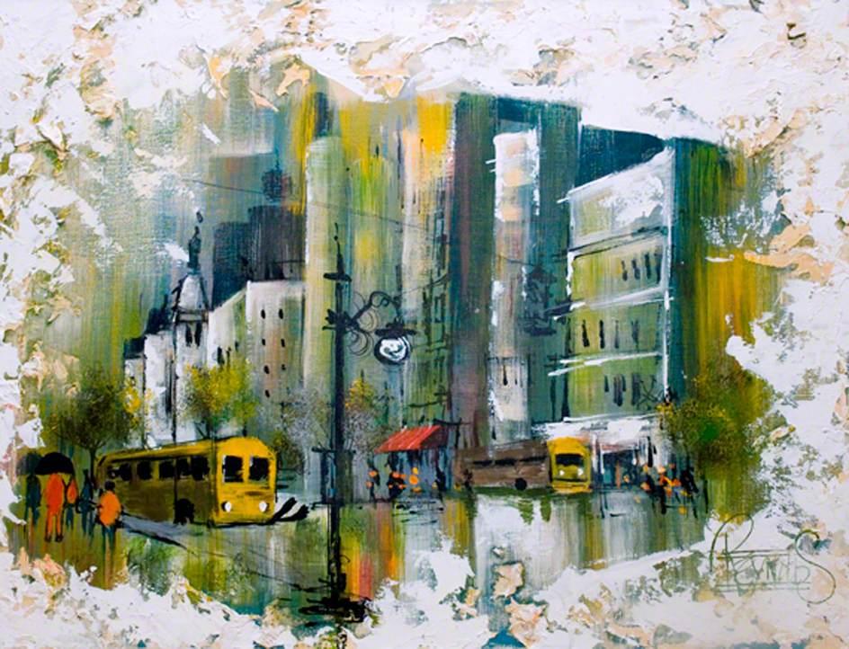 Rainy Street Scene*