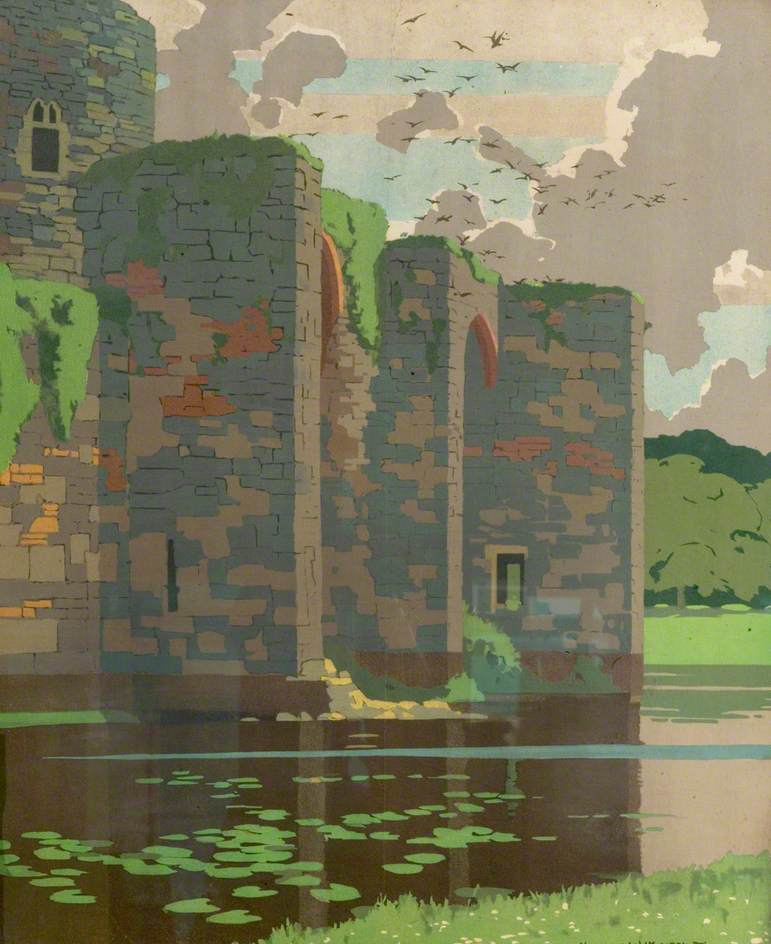 Castle and Moat