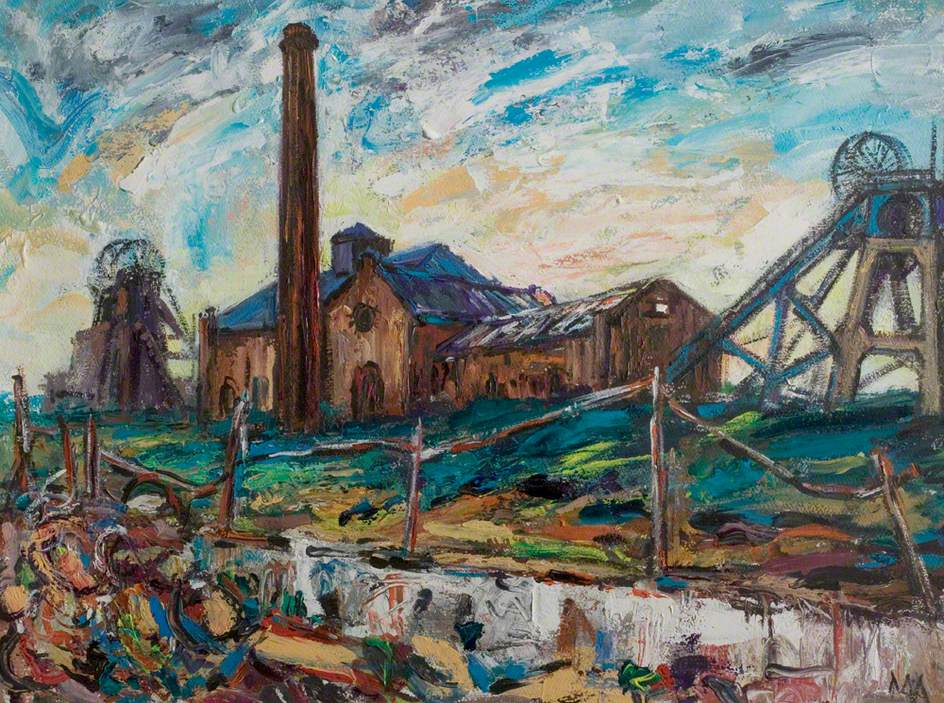 Desolation, Pleasley Colliery, Nottinghamshire