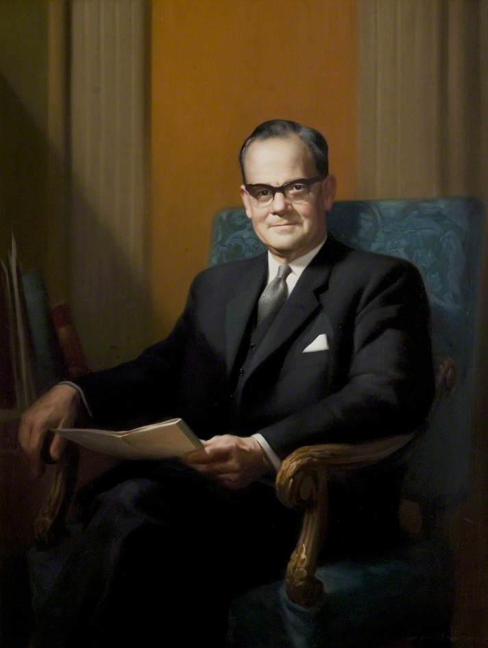Alderman Albert James Pounder, JP, Chairman of the County Council (1967–1968)