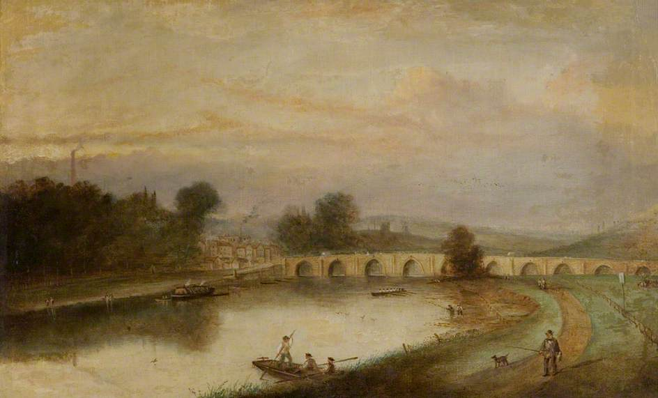 Trent Bridge, Nottingham, with Ferry