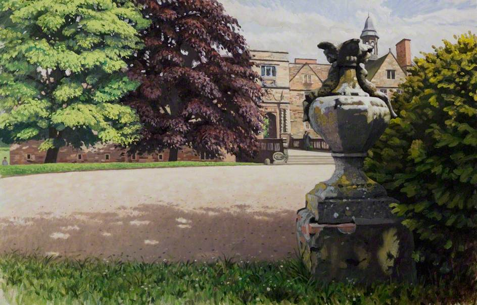 Rufford Abbey, Nottinghamshire, from the Turning Circle