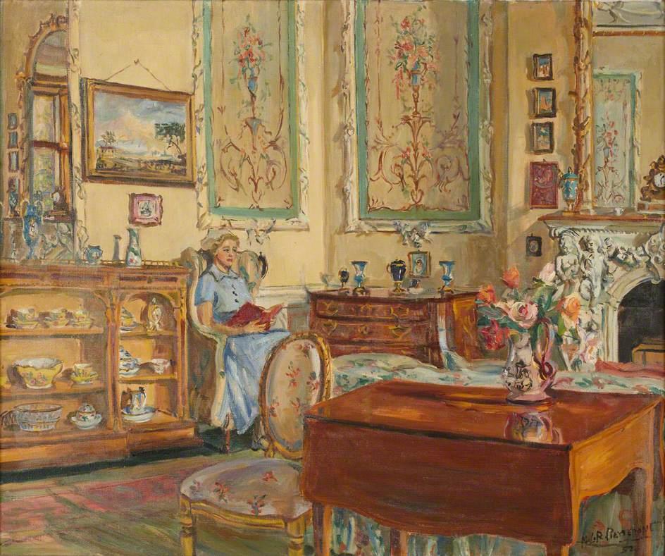 Nurse in the Tapestry Room