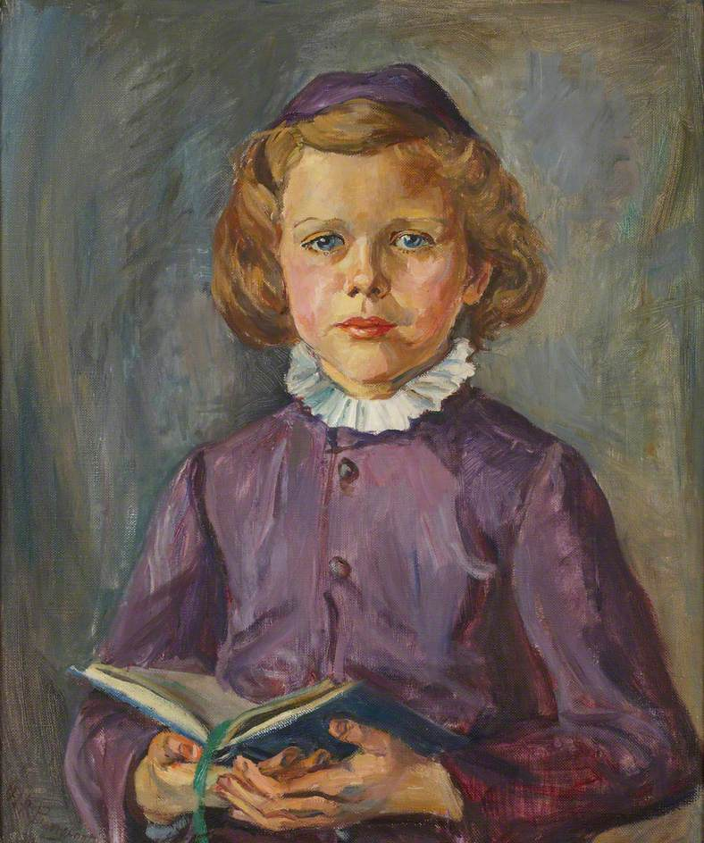 Portrait of a Young Girl with a Book
