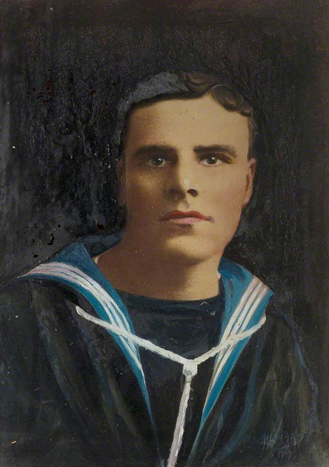 E. Tillotson as a Boy Sailor