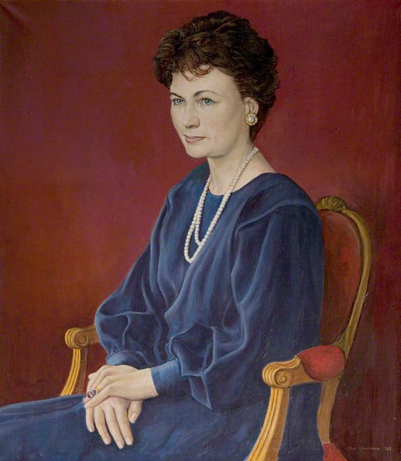 Frances Helen Sweeney (b.1937), Duchess of Rutland