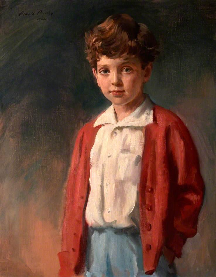Richard Carew Pole (b.1938), as a Boy
