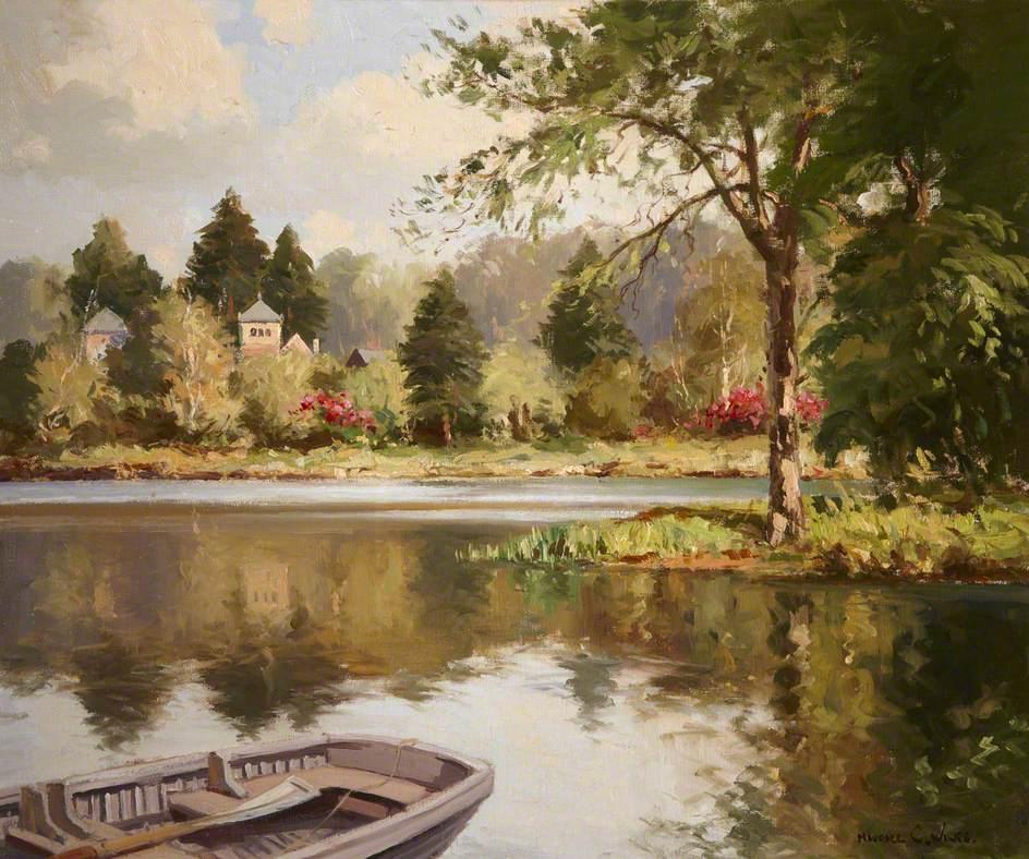 The Lake at Mount Stewart with Tir Nan Og