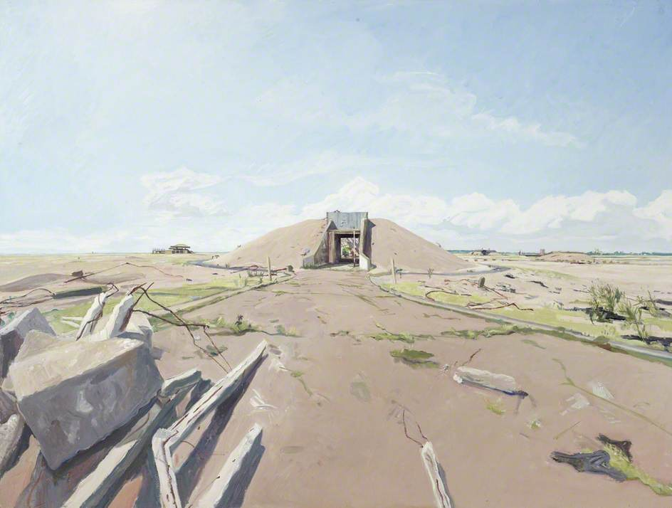 View of Military Remains at Orford Ness