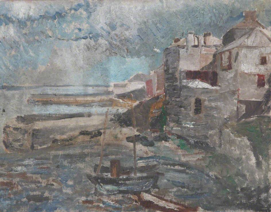Scene of a Harbour
