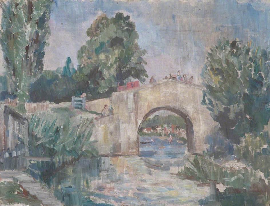 A Bridge over a River