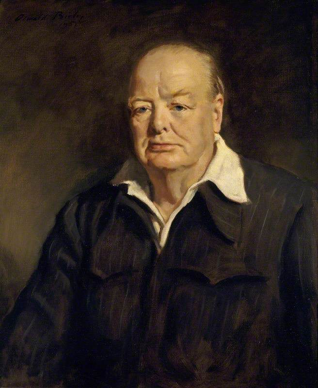 Sir Winston Leonard Spencer-Churchill (1874–1965), KG, DL, OM, CH, PC, MP