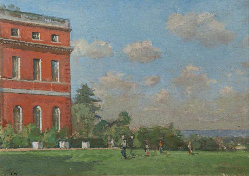The East Front, Clandon Park