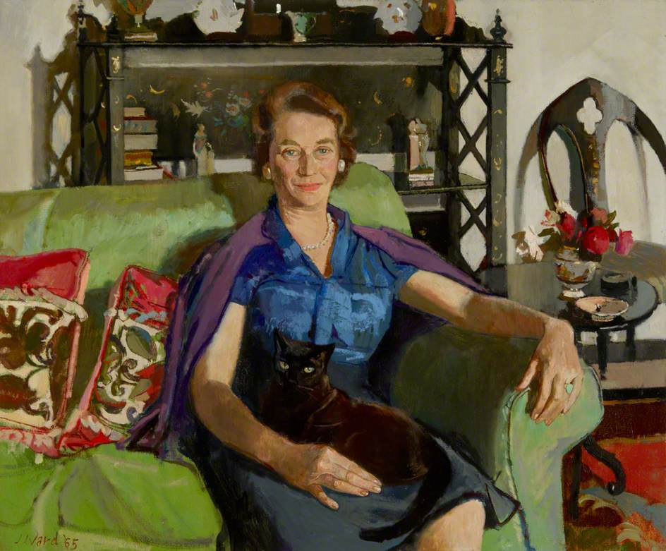 Elizabeth (Betty) Smiley (1907–2006), Mrs Christopher Hussey, in Middle Age