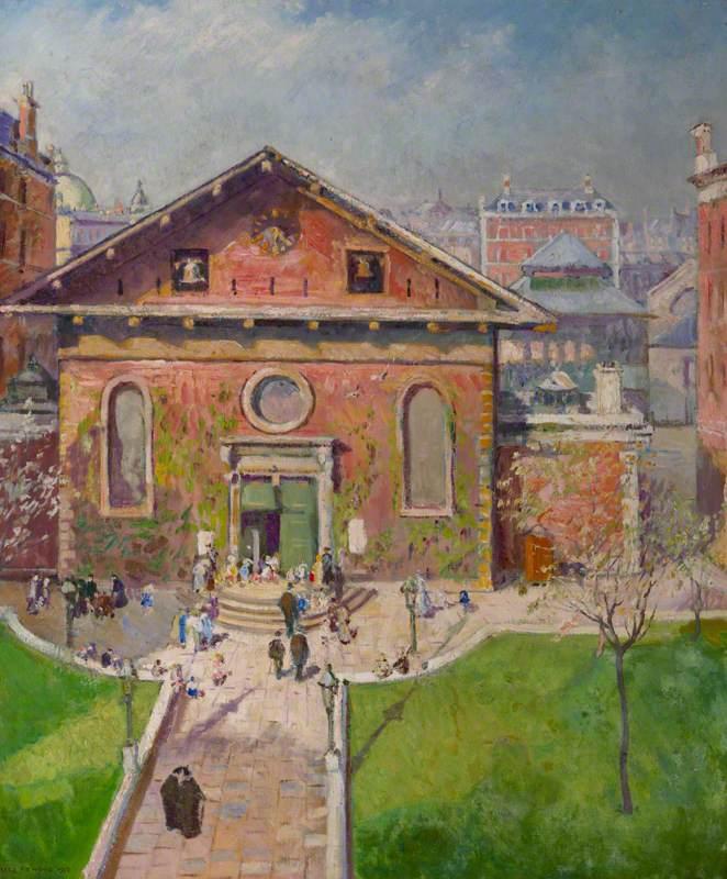 Sunday, St Paul's Church, Covent Garden