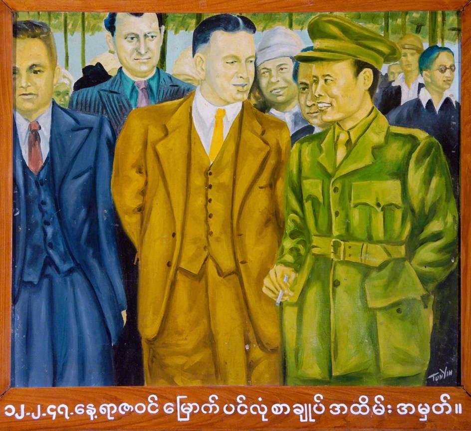 The Panglong Conference, Burma