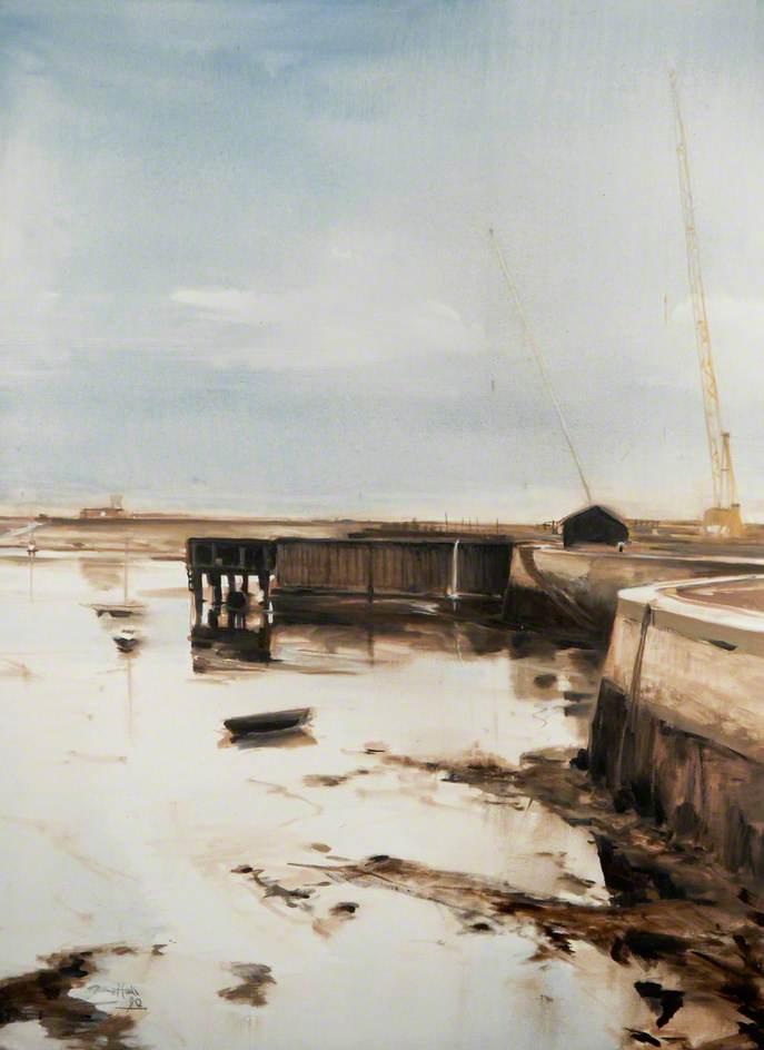 Low Tide at Middleton Docks