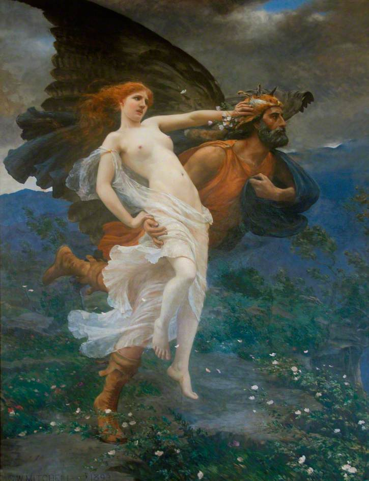 The Flight of Boreas with Oreithyia
