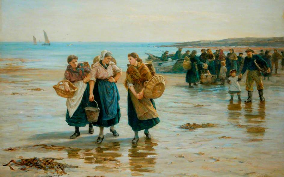 When the Boats Come in (Morning on the Beach)