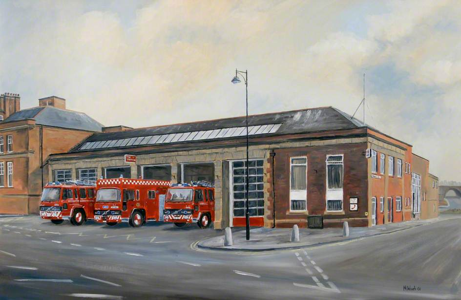 Old South Shields Community Fire Station, Keppel Street, South Shields, Tyne and Wear