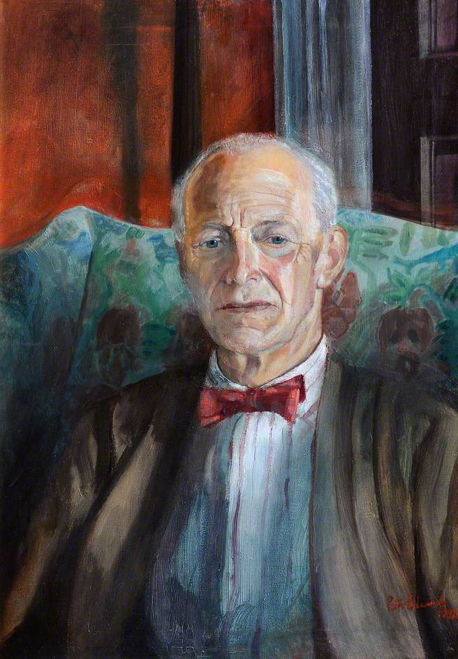Lord Kenyon (1917–1993), 1st Chairman of Clwyd Fine Arts Trust, President of the National Museum of Wales (1952–1957), and a Trustee of the National Portrait Gallery (1953–1988)