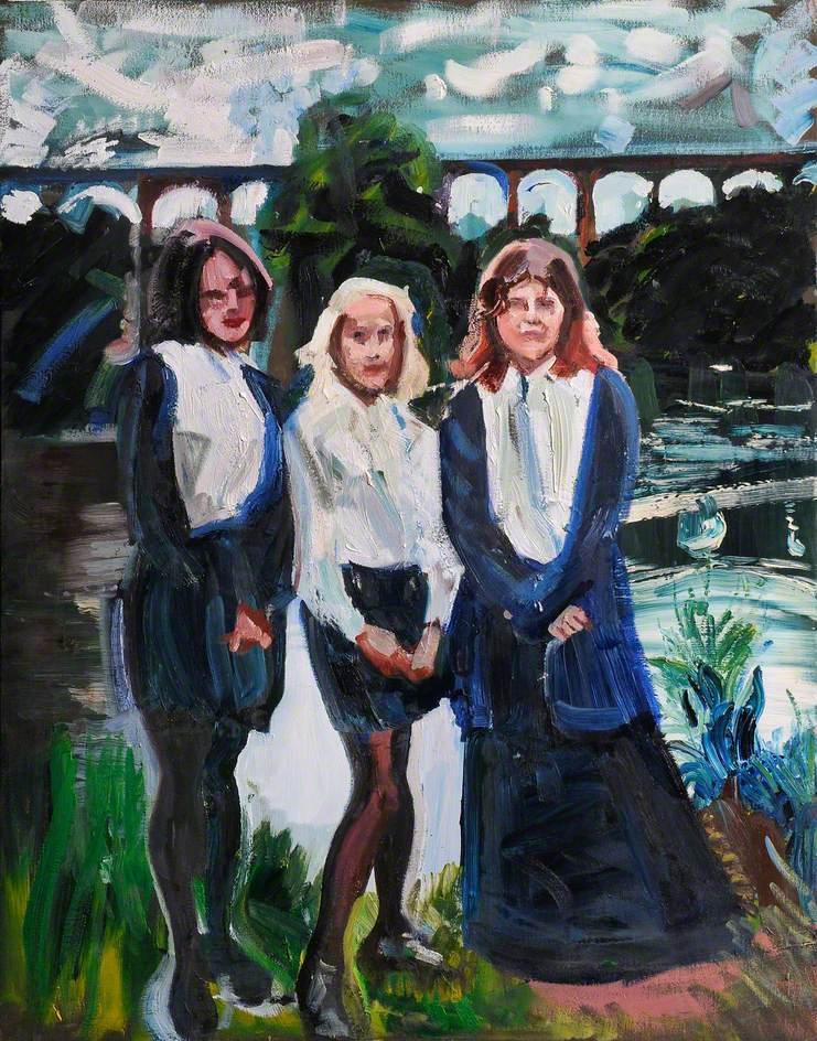 The Three Muses, from Penley Maelor School