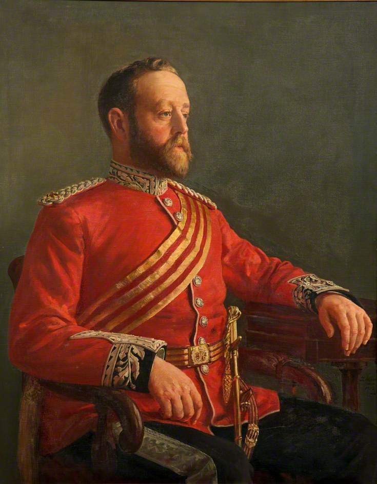 Sir James Williams-Drummond (1857–1913), of Edwinsford, Llandeilo, 4th Bt Hawthornden, CB, Lord-Lieutenant of Carmarthenshire
