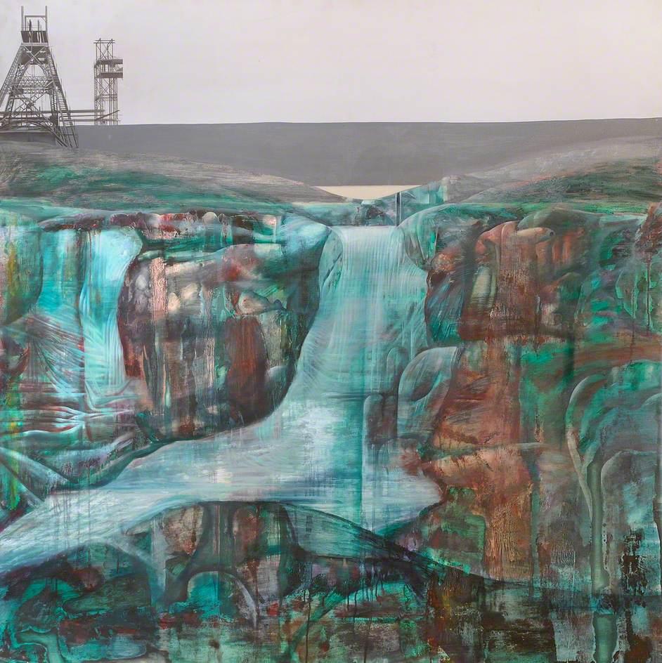 Landscape with Derelict Pylons