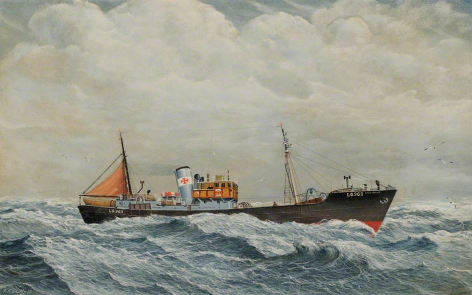 The Trawler 'David Ogilvie'