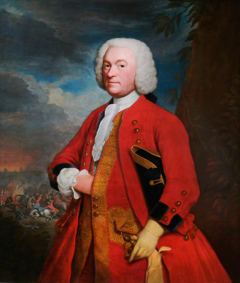 Colonel Newsham Peers, Colonel of the Regiment (1739–1743)