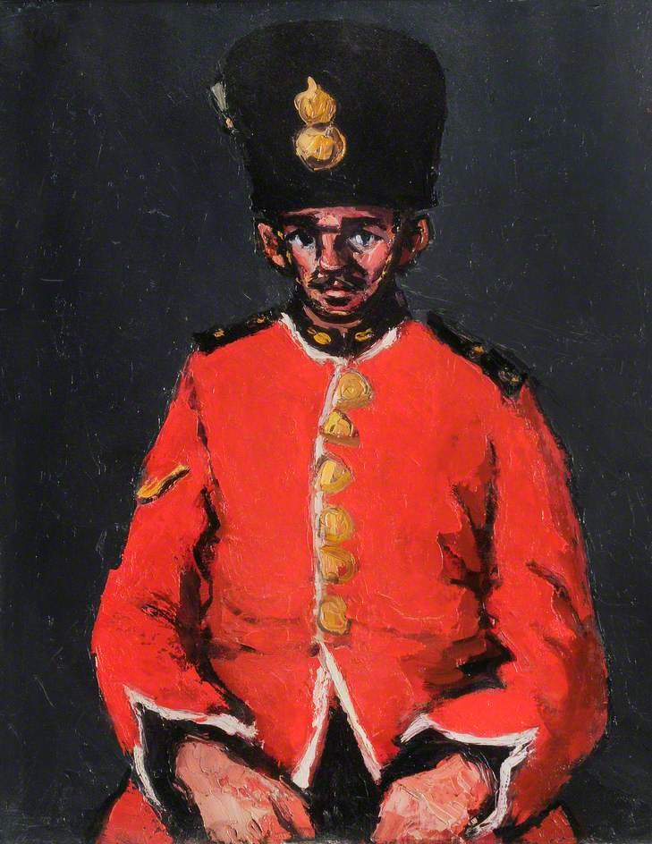 Royal Welchman in Scarlet
