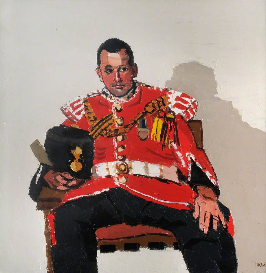 Corporal Norman Pritchard, Goat Major, 3rd Battalion