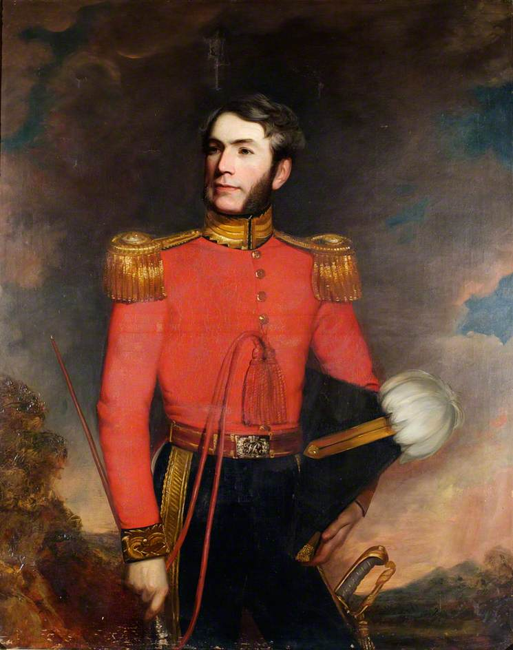Major John James Greig (d.1882), CB