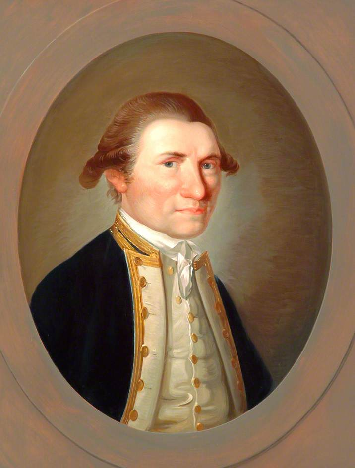 Captain James Cook (1728–1779), Painted at the Cape of Good Hope