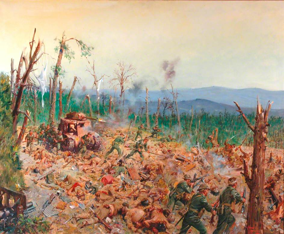 The Battle of Kohima, April 1944