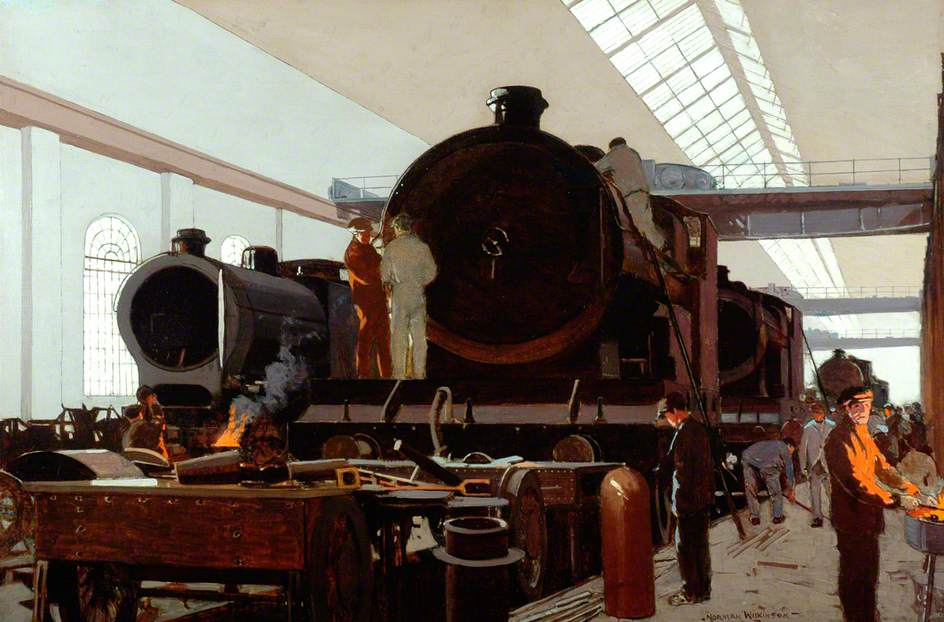 Building an Engine at Crewe Works