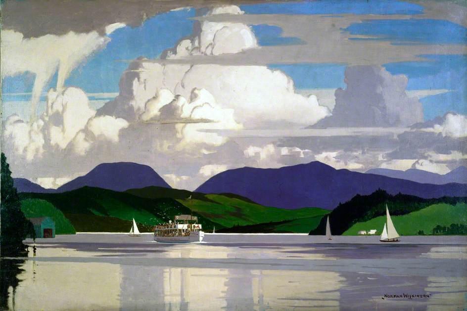 MV 'Swan' on Lake Windermere