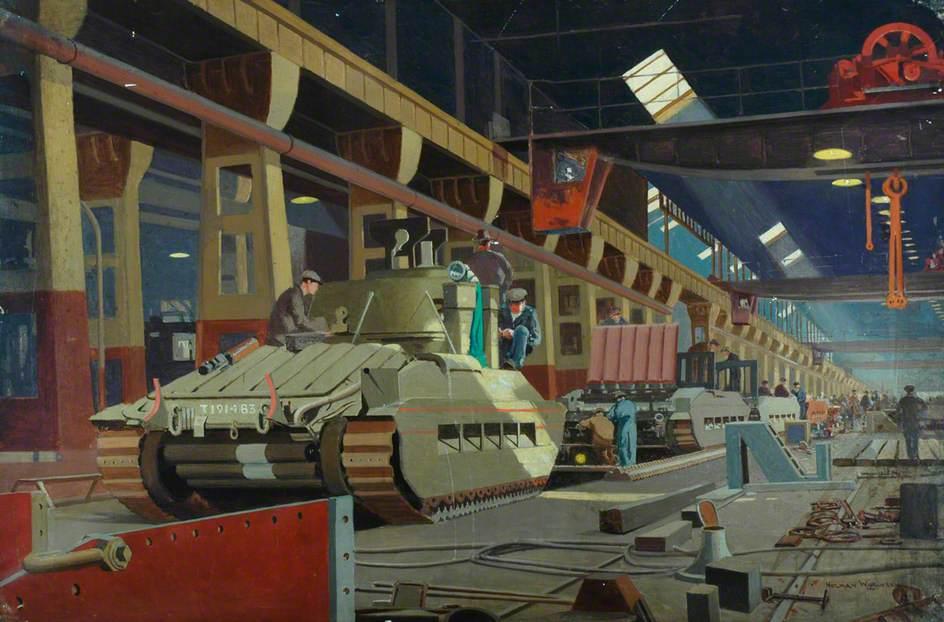 Building Matilda Tanks at Horwich