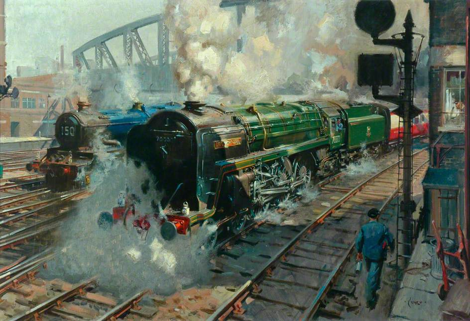 Forging Ahead: The First British Railways Standard Express Locomotive