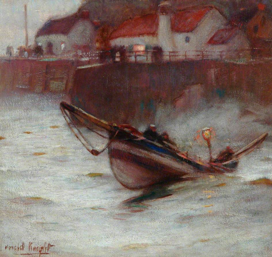 Coble at Staithes
