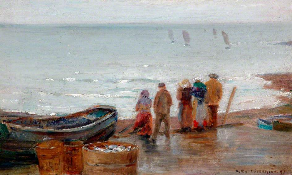 Figures on the Shore