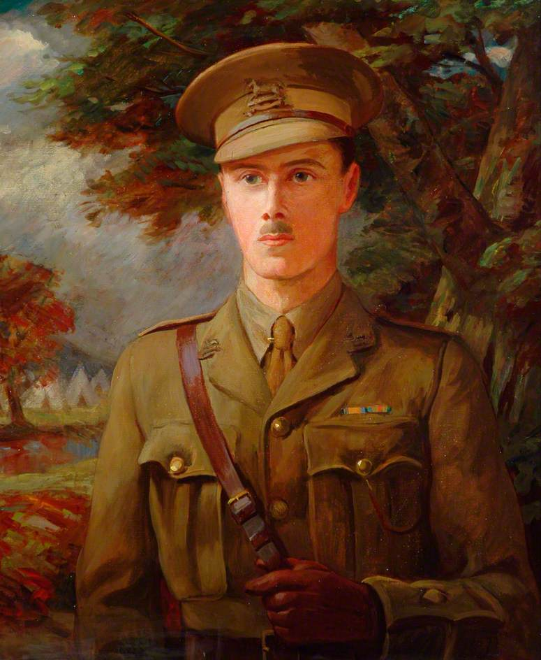 Second Lieutenant R. L. Petch, West Yorkshire Regiment