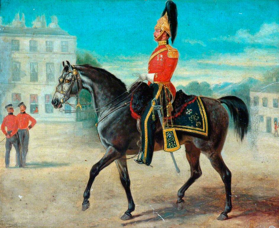 Major Gore, the 7th Dragoon Guards