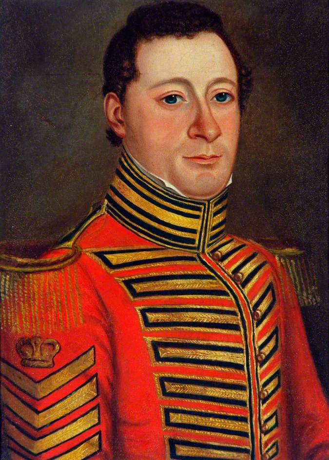 Regimental Sergeant Major Hickman (d.1833)